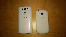 Samsung Galaxy S3 and LG G3S - spare parts