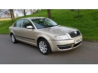 2006 SKODA SUPERB 1.9 PD TDI MOT FEB 2018