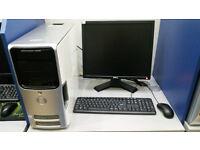 Dell Dimension with 19'' monitor, Intel Core 2 DUO 2.40 GHz, 4GB RAM, 500GB HDD, NVIDIA, Windows 7