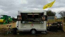 Catering trailer fully equipped