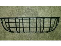 cast iron, wall hung, plant basket