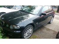 2003 BMW 320 TD SE COMPACT BLACK Needs Turbocharger and TLC