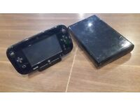 Nintendo Wii U Console Premium Black 32GB For Sale.