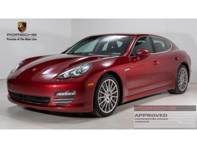 Imagen 1 de Porsche Panamera red