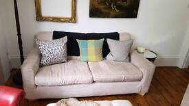 Sofa - suede removable covers