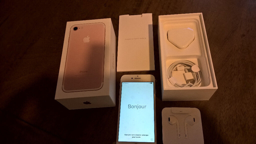 I PHONE 7 ROSE GOLD +EXTRAS BARGAIN PRICE REDUCED NEEDS TO GO ASAP