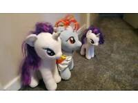 My little pony plush bundle