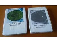 8 trk cassette mike oldfield - hergest ridge
