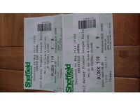 2 Betway premier league darts tickets for sheffield arena Thursday 4th May 2017