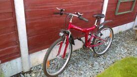 Bike folding down