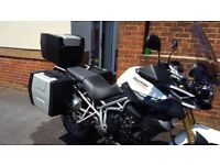 ** Triumph Tiger 800 ABS, 2011 with extras, luggage, FSH - £4,695 ono **