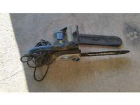 mc alaster 240v chain saw