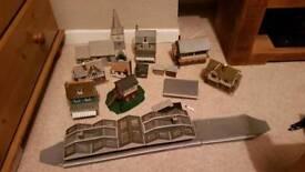 Model Railway Card Buildings