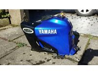 Yamaha XT600E Fuel Tank and Plastic Trim