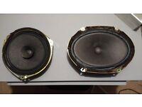 4x Original Mazda bongo speakers vgc