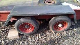 2axle plant trailer £475