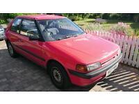Mazda 323 1.3 1991 long mot low mileage
