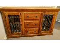 Sheesham solid wood sideboard