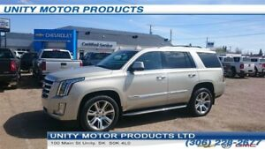 2015 Cadillac Escalade Premium- Rear DVD, Sunroof! Heated 1st an