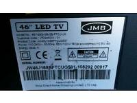 Jmb 46 inch led tv