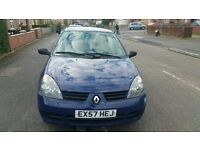 Renault Clio 1.2 Campus 3dr Fuel type Petrol 1.2 LONG MOT 03/17 ONLY £725
