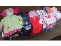 Huge Clearance, Girls Children's Clothes Age 3-6, Over 150 Items, Dresses, Jackets, Trousers Branded