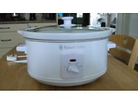 RUSSELL HOBBS SLOW COOKER - WHITE