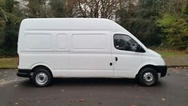 2008 3.5t, 5 seater, white LDV van for sale.