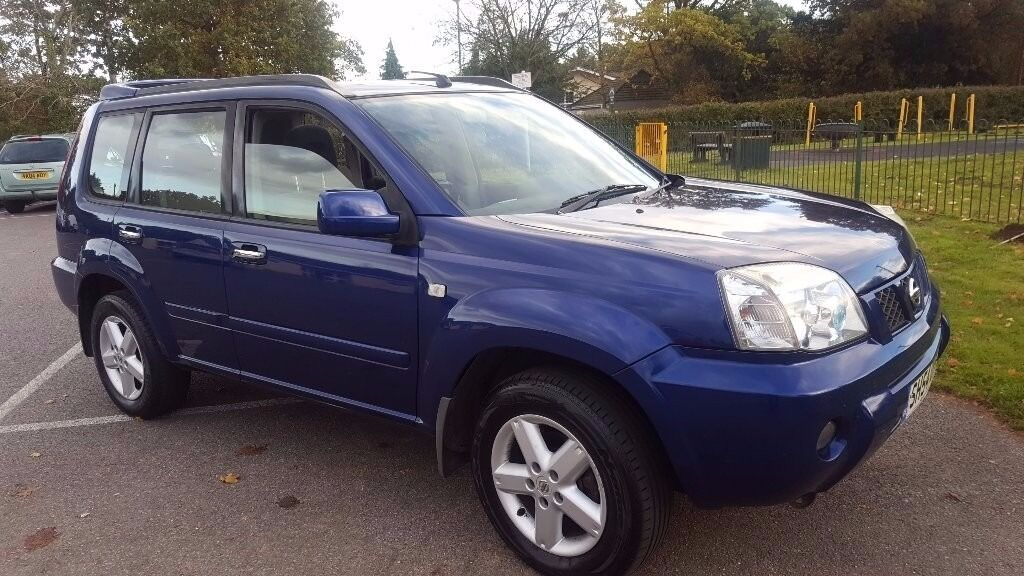 2005 NISSAN X-TRAIL 2.2 DCI DIESEL 136 BHP ** JUST SERVICED & VALETED** GOOD DRIVING JEEP