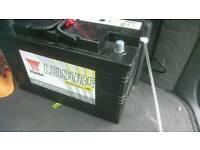 Leisure battery for caravan or motorhome