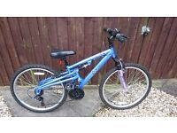 Girls mountain bike, excellent condition, 26 inch wheel, 18 gears. Ideal Christmss present. £95