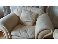 Laura Ashley sofa and armchairs