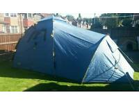 Khyam Freelander tent and optional groundsheet.