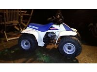Suzuki lt50 quad genuine 2002