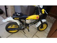 Suzuki ks 50 moped