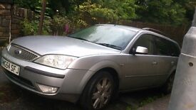 Repair/spares 2005 2.2 litre Silver Ford Mondeo TDci GhiaX Estate (top of range) offers considered