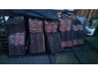 Roughly 250 used lagan tiles free