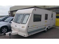 Lunar Special 524 4 Berth Caravan 1998 Model