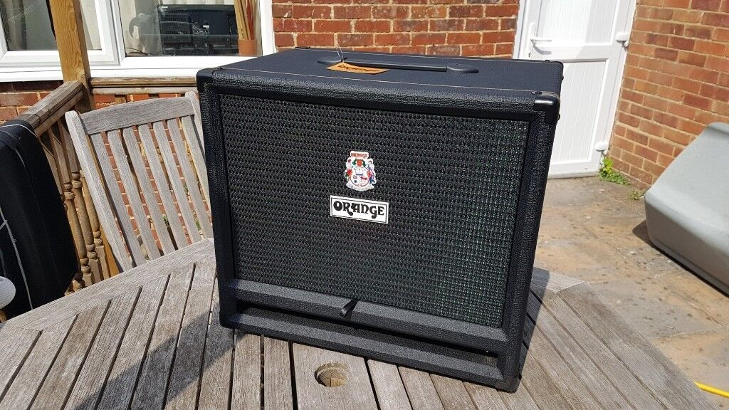 Orange 600w Bass Cab 2x12 Isobaric As New Condition In