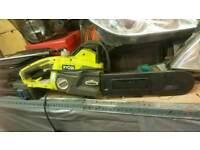 Ryobi electric saw with oil