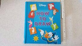 Disney How To Draw (Disney Learning), Disney Hardback Book