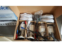 CCTV camera + install+hard driver +monitor