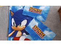 Sonic hedgehog double duvet set