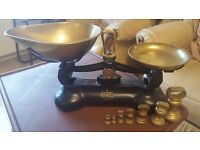 Richmond brass scales and weights