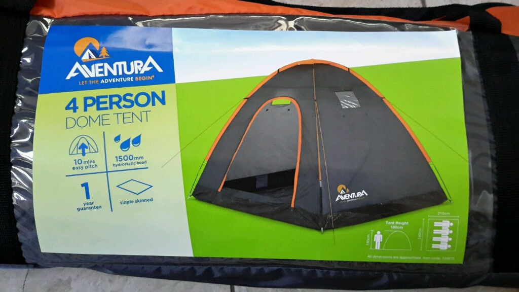 Aventura 4 Person Dome Tentquechua a300 self inflating mattressin Southside, GlasgowGumtree - Aventura 4 Person Dome Tent & quechua a300 self inflating mattress Both items are new Bargain at only £40 for both no offers collection from rutherglen in glasgow southside