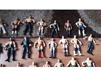 WWE Wrestling Action figure toys x33 Mattel