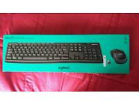Logitech MK 270 wireless keyboard and mouse