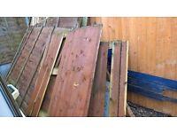 FREE broken wood panels for burning