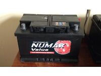 NUMAX CAR BATTERY, HEAVY DUTY,SUITABLE FOR ALL CARS UPTO 2.5