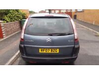 Fore Sale: Citroen Picasso C4 1.6 HDI 2007 £950.00 ono NICE CAR!!